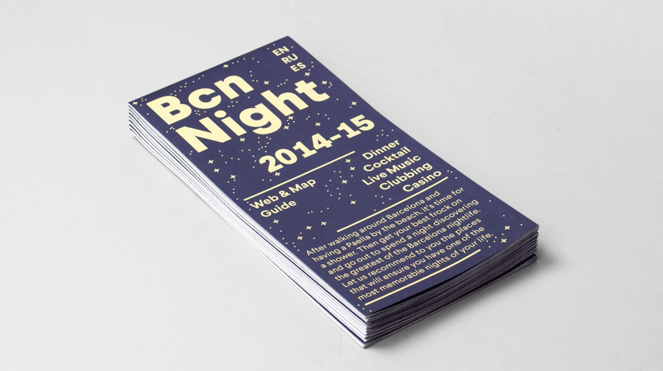 Bcn Night: Map & Web Guide